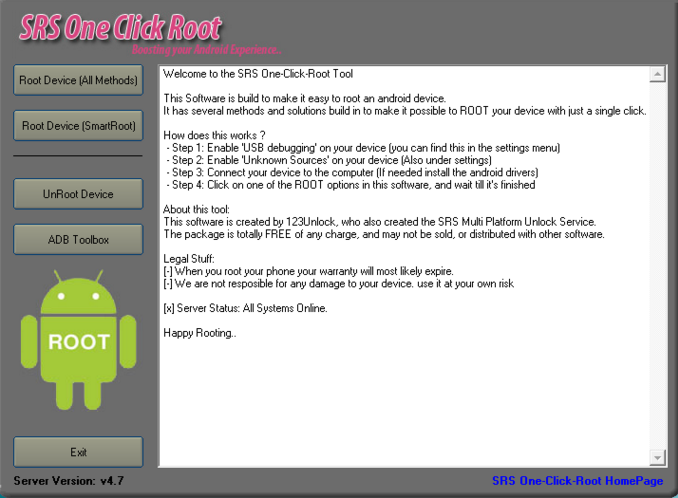 One Click to Root Android 5 0 Lollipop with Any Phone and Tablet